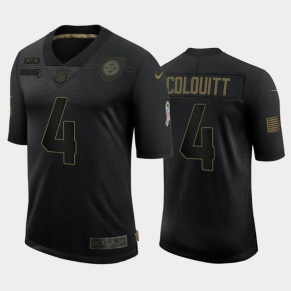 Pittsburgh Steelers Dustin Colquitt Jersey